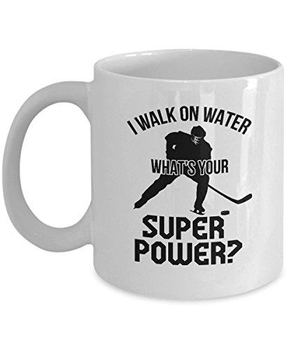 Funny Ice Hockey Coach Novelty Gifts Coffee & Tea Gift Mug (11oz) -