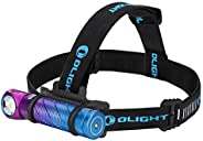Olight Perun 2 2500 Lumens Rechargeable LED Headlamp, Multi-Functional Compact Hands-Free Right-Angle Light