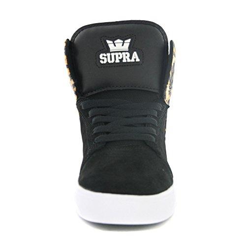 Supra - Zapatillas de deporte para hombre - Noir / Léopard