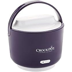 Crock-Pot 24-Ounce Lunch Crock Food Warmer, Deluxe Edition, Purple