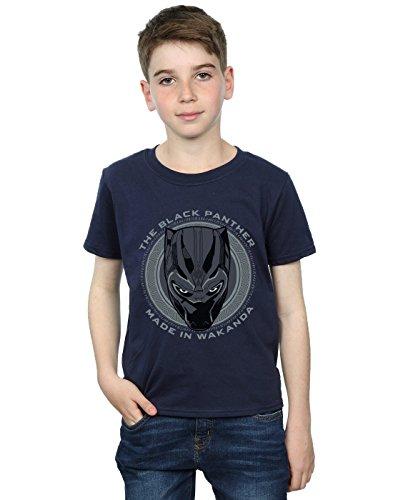 T Wakanda Marvel Bleu Black Made Absolute shirt In Garçon Panther Cult Marin f8ZxfqnaS