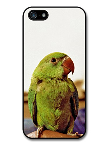 Green Wild Parrot Photography Cool Cute Bird Animal case for iPhone 5 5S