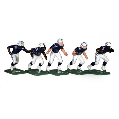 (Tudor Games 67-10-D Big Men NFL Home Jersey - Indianapolis Colts 11 Electric Football Players, Multicolor (Pack of 11))