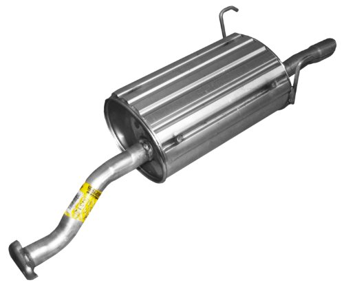 [Walker 54312 Quiet-Flow Stainless Steel Muffler Assembly] (2005 Honda Civic Muffler)