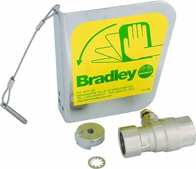 Bradley S30-072 2 Piece Ball Valve Dust Cover Handle Set from Bradley Fixtures Corporation