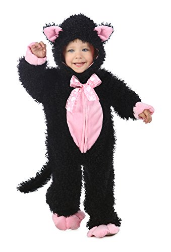 Princess Paradise Baby's Black and Pink Kitty, 6 to 12 Months