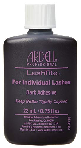 - Ardell Lashtite Adhesive, Dark, 0.75 fl.oz. Bottle