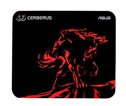 Asus Cerberus Gaming Mouse Pad - Black, Red, Mini