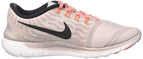 Nike Womens Wmns Free 5.0, Purple Ash / Black-white-iper Orange Orange Ash / Black-white-hyper Orange