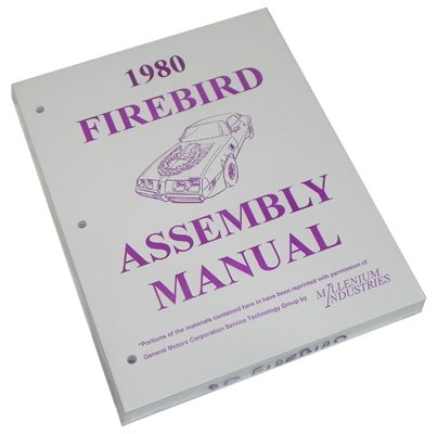 Inline Tube (I-3-6) Factory Assembly Manual for 1980 Pontiac Firebird