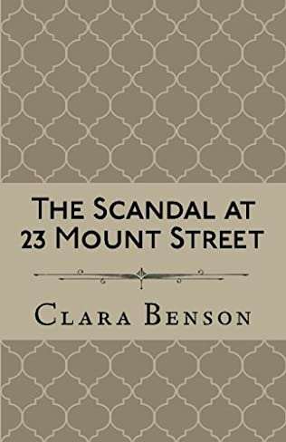 book cover of The Scandal at 23 Mount Street