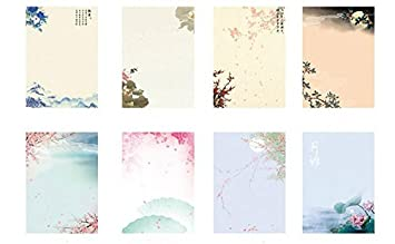 8 Different Style IMagicoo 64 Vintage Retro Design Writing Stationery Paper Pad Letter Set Style-3