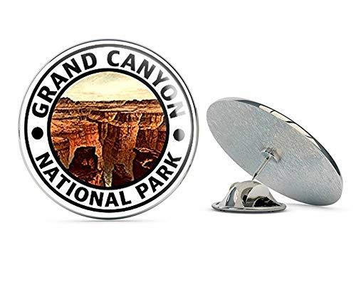 Az Grand Canyon National Park - NYC Jewelers Round Grand Canyon National Park (Hike Travel rv az Arizona) Metal 0.75