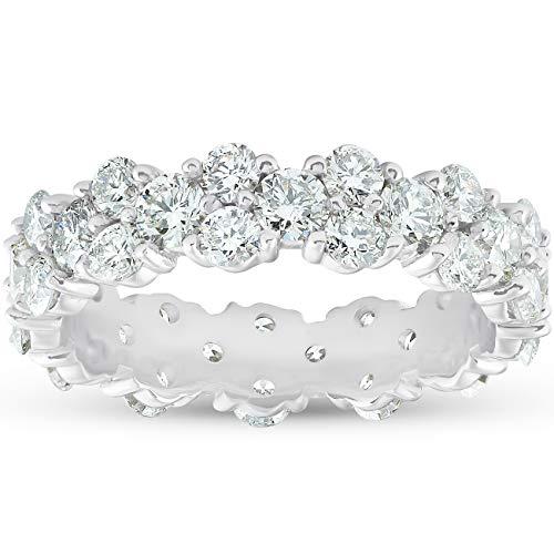 3 ct Diamond Eternity Ring Womens Wedding Anniversary Band - Size 7