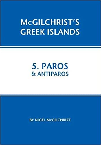 Paros and Antiparos: 5 McGilchrist\'s Greek Islands: Amazon ...