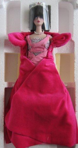 Limited Edition Porcelain Brunette Sophisticated Lady Barbie Doll