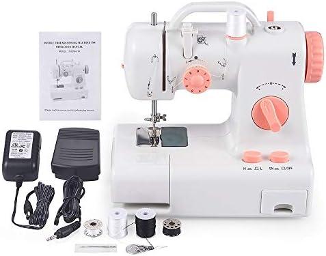 Máquina de coser portátil con lámpara de pie 12 puntadas Máquina ...