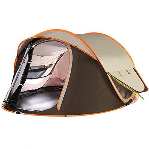 きれいにスキム邪魔テント、自動テント屋外防水キャンプファミリーテント