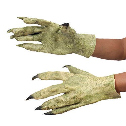 jxwstar Halloween Latex Tricky Devil/Zombie/Beast Dressup Cosplay Masquerade paw Hands Gloves by jxwstar
