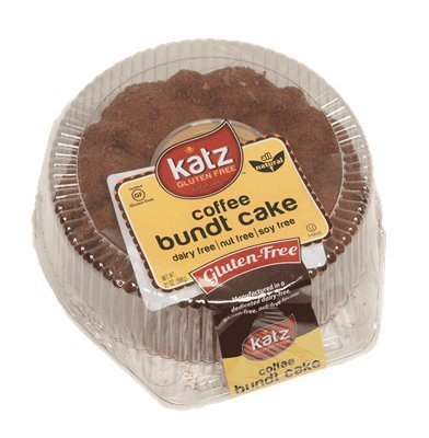 Bacon And Eggs Costume Canada (Katz Gluten Free Coffee Bundt Cake, 21 Ounce, Certified Gluten Free - Kosher - Dairy, Nut & Soy free - (Pack of 6))