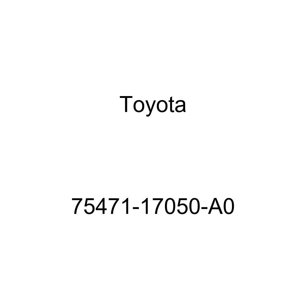 TOYOTA 75471-17050-A0 Name Plate