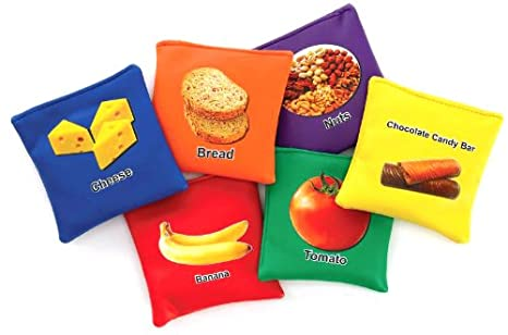 Sportime 1480097 My Plate Beanbags, Assorted Colors (Pack of 60) - Amazon.com: Sportime 1480097 My Plate Beanbags, Assorted Colors