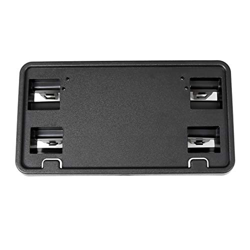 ECOTRIC Front Bumper License Plate Delete Bracket Vanity Mount for 2015-2017 Ford F-150