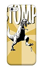 Renee Jo Pinson's Shop 4333090K11540979 Flexible Tpu Back Case Cover For Iphone 5/5s - Dinosaur Stomping