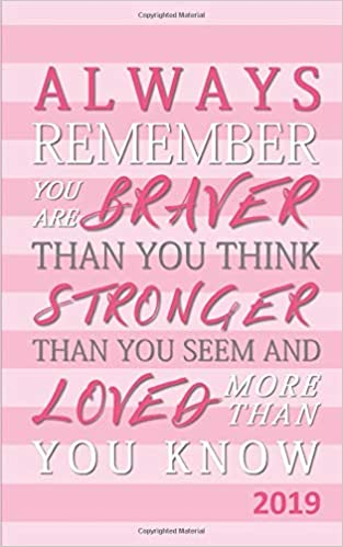 Always Remember You Are Braver Than You Think Stronger Than You