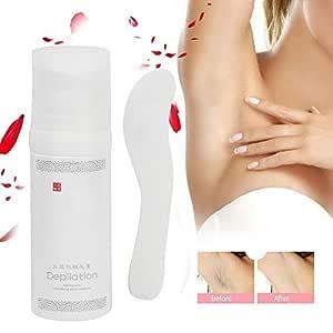 Crema para depilación suave, loción depilatoria o axila posterior ...