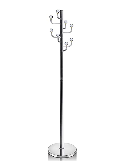 Amazon.com: Coat Rack Crystal Stainless Steel Clothes Stand ...