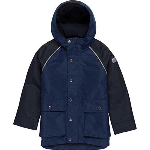 Joules Little Boys' Playground Fleece Lined Waterproof Coat, Marine Navy, 6