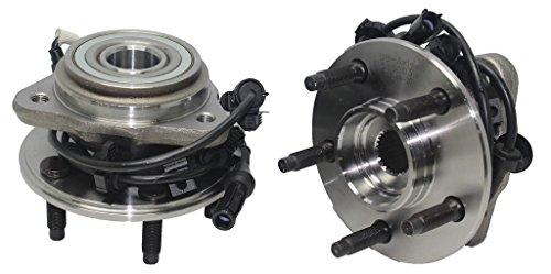 Detroit Axle - Both (2) Front Driver & Passenger Side Wheel Hub & Bearing for 03-09 Ford Ranger - [03-09 Mazda B2300] - 03-09 B4000 - [03-10 B3000] - 03-05 ()