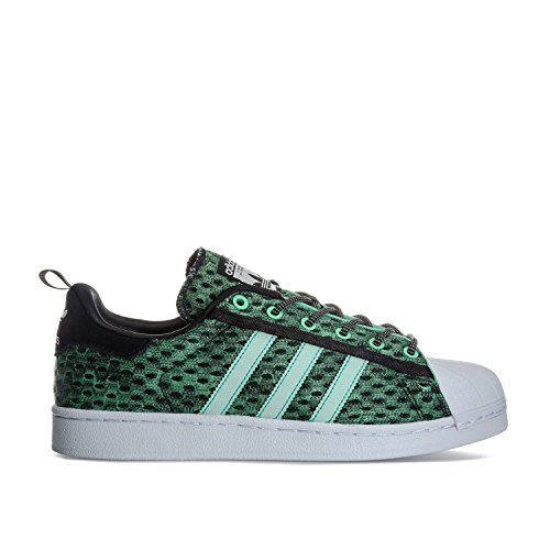 adidas Originals Men's Superstar Trainers Core US15 Green by adidas Originals