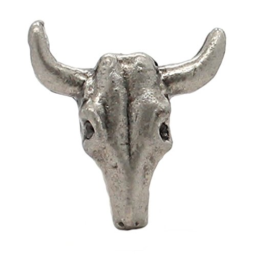 "Buffalo Skull Nickel Decorative Concho Snap Cap 1""1265-996"