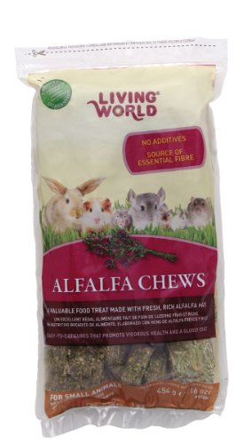 Living World Alfalfa Chews, -