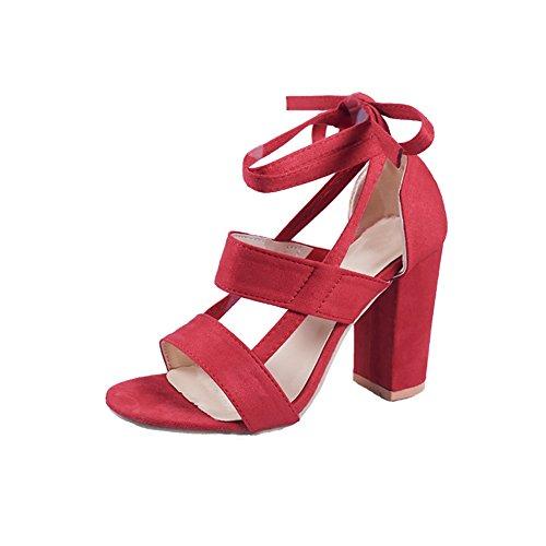 HUAN Femmes Chaussures Suede Printemps Et
