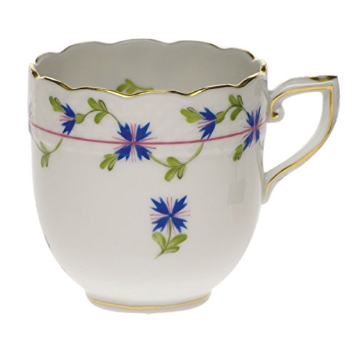 - Herend Blue Garland After Dinner Cup