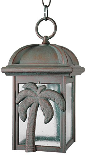 Melissa Lighting PT2931 Tropical/British Colonial Outdoor Pendant from Palm Tree Series Collection in Bronze/Darkfinish