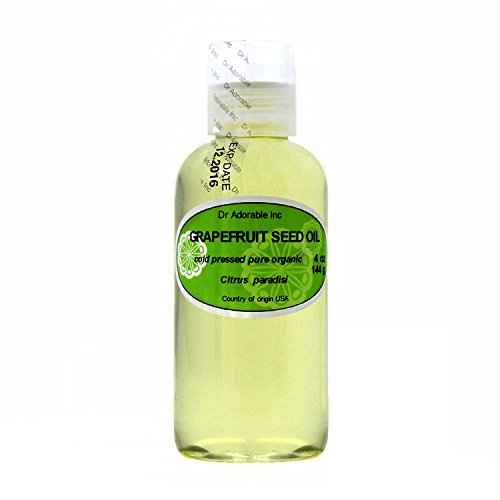Grapefruit Seed Oil Organic Cold Pressed 100% Pure 4 Oz