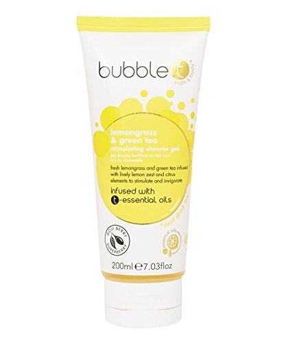 Bubble T Bath & Body - Shower Gel in Lemongrass & Green Tea - 200ml by Bubble -