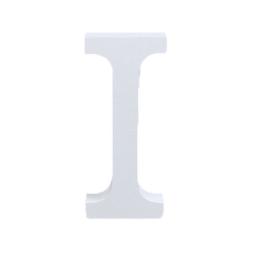 Hosaire Letras Madera para Decorar para Boda//Fiesta//Guarder/ía//Decoraci/ón de Paredes Color Blanco D