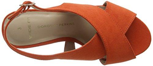 rust Simone Orange Femme Dorothy Escarpins Fermé Perkins 50 Bout A44qp0H