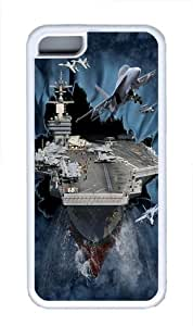 Aircraft Carrier Breakthrough Custom ipod touch4 Case Cover TPU White