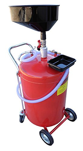 Redline 30 Gallon Self Evacuating Under Hoist Lift Oil Recovery Drain (Self Evacuating Oil Drain)
