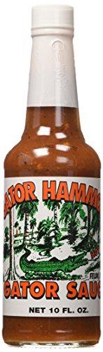 GATOR HAMMOCK Gator Sauce, 10 FZ (New Orleans Gourmet Food And Spice Company)