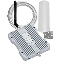 SolidRF BuildingForce 4G-M Cell Phone Signal Booster 3G 4G LTE Cell Phone Booster Mobile Phone Signal Booster Cell Signal Amplifier Repeater For Home All Carriers