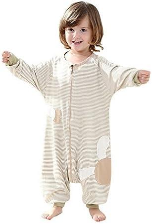 Poliking - Mono de algodón orgánico con cremallera para bebé y verano, manga larga, verde, Small: Amazon.es: Deportes y aire libre