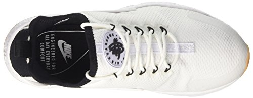 Women 9 Nike Ultra Run Women's White Running Yellow White Air Black 5 US Gum Huarache Shoe 76n7rq