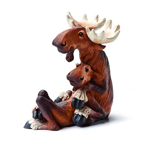 Demdaco Big Sky Carvers Moose Mates Figurine Big Moose